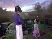 """شاهد فيديو مؤثر لأم تلتقي ابنتها المتوفية منذ 4 سنوات  عبر تقنية """"الواقع الافتراضي"""""""