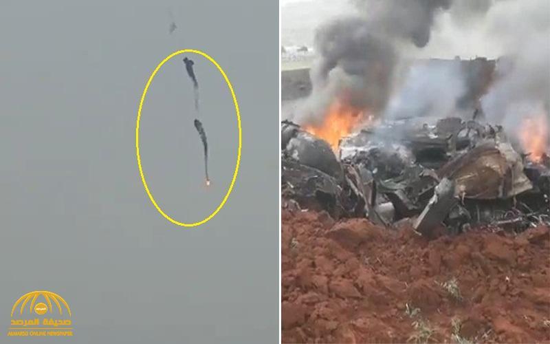 للمرة الثانية .. شاهد لحظة إسقاط مروحية للنظام السوري في حلب ومقتل أفراد طاقمها
