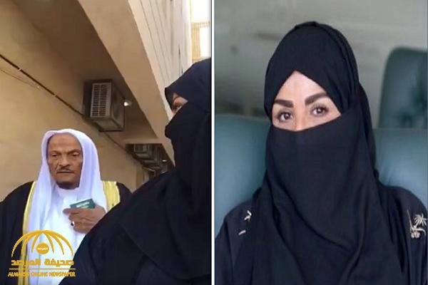 """فيديو.. محامية """"سعودية"""" تكشف عن ردة فعل والدها عندما شاهدها تترافع أمام هيئة قضائية داخل المحكمة"""