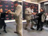 شاهد .. فضيحة سفير قطر في المكسيك يرقص مع امرأة !