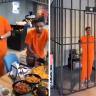 """شاهد … مطعم """"السجن""""  في جدة يثير  الاستغراب على تويتر!"""