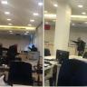 شاهد..  مسن لبناني يهدد بإحراق نفسه داخل بنك في بيروت إذا لم يحصل على أمواله بالدولار