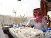 بالصور ..  نائب أمير مكة يقف على الأعمال الجاري تنفيذها بمشروع طريق الملك عبدالعزيز  .. وهذا موعد الانتهاء