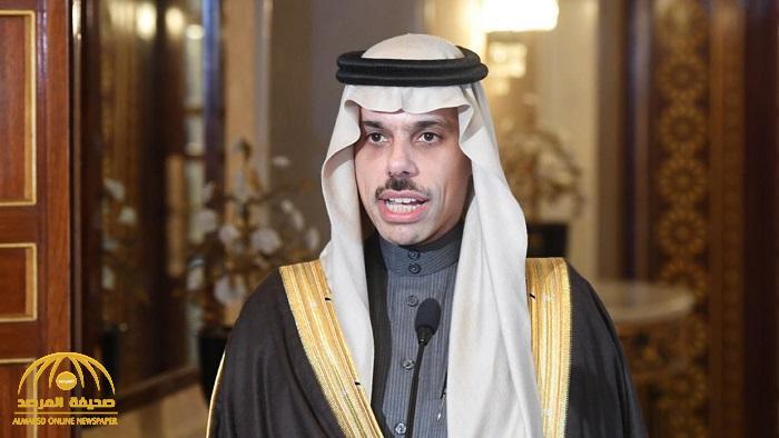 """أول تعليق من وزير الخارجية """"الأمير فيصل بن فرحان"""" عن عقد لقاء سعودي – إسرائيلي"""