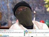 شاهد : مغني بريطاني يثير سخرية متابعيه بعد ظهوره بشكل غريب خوفا من عدوى كورونا