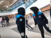 بالفيديو.. الشرطة التركية تعتدي بالضرب على مسافرين سودانيين عالقين بمطار اسطنبول