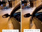 """شاهد: امرأة تخرق قرار """"منع التجول"""" وتقود سيارتها ليلا.. وهكذا تعامل معها رجل الأمن"""