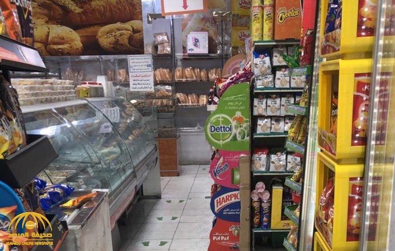 """إجراء جديد من أمانة جدة لمنع تفشي فيروس """" كورونا """" بين المتسوقين -صور"""