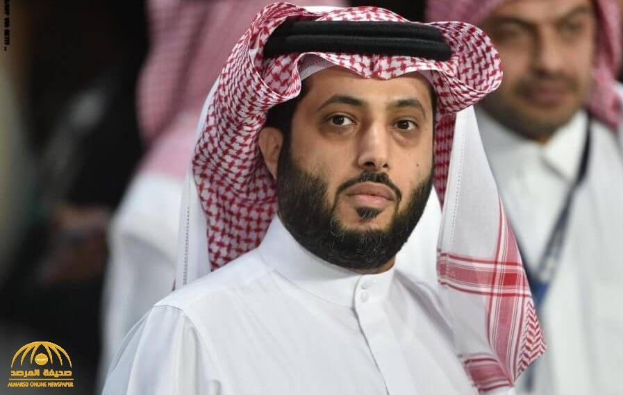 تركي آل الشيخ يتوعد لاعب سابق بنادي مصري بمقاضاته