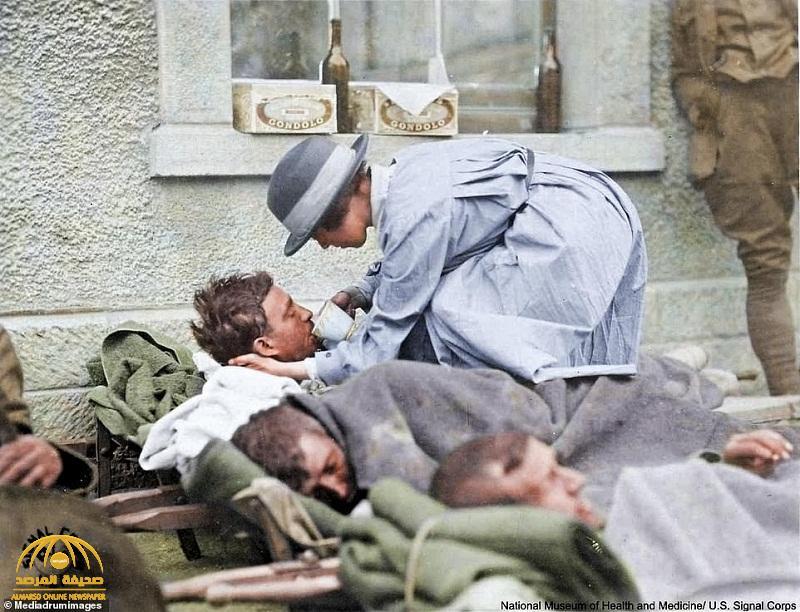 شاهد بالصور : وباء ضرب العالم بعد الحرب العالمية الأولى شبيه بالكورونا راح ضحيته الملايين
