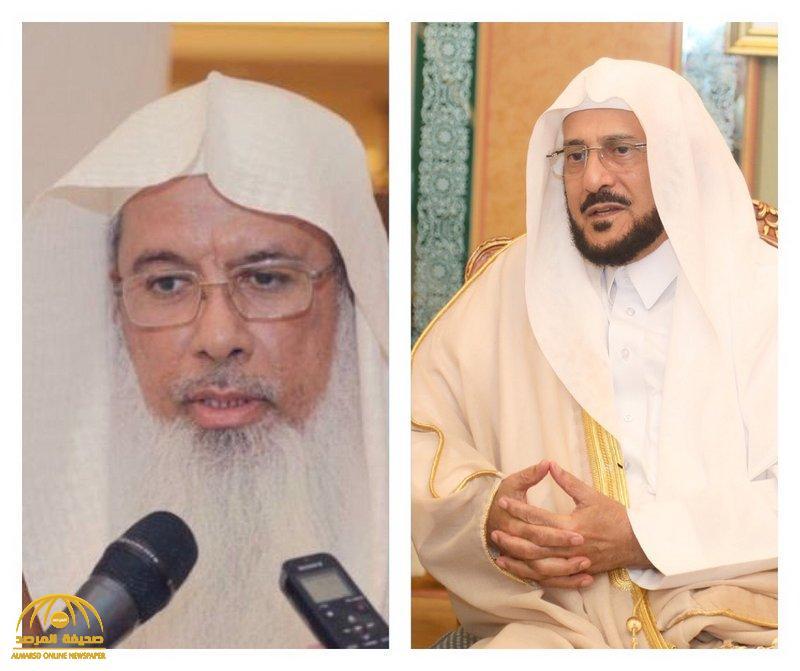 """""""آل الشيخ """" يكشف تطورات الحالة الصحية لمدير المركز الإسلامي ببريطانيا بعد إصابته بكورونا !"""