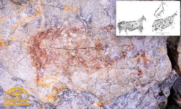 شاهد : لوحات فنية على الكهوف عمرها ٤٠ ألف عام تغير نظرة العالم لمجتمع ما قبل التاريخ