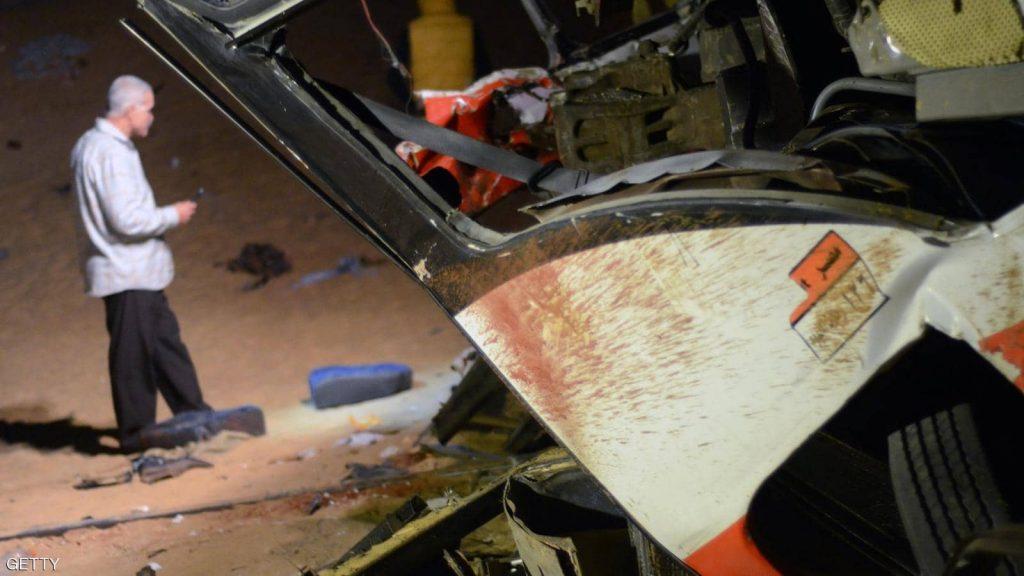 """حادث سير """"مروع"""" في مصر.. قتلى وأشلاء على الطريق"""
