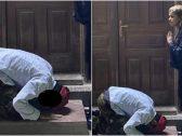 القبض على فتاة وشاب ظهرا في صور أمام مسجد في حالة سجود.. والكشف عن جنسيتهما!