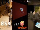 """شاهد : يزيد الراجحي يتباهى بعرض فعاليات """"ركوب الخيل والسينما"""" داخل قصره الفاخر أثناء الحجر الصحي!"""