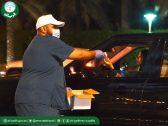 شاهد …  توزيع معقم أمانة الرياض على المواطنين والمقيمين مجاناً في 25 مكان للوقاية من كورونا