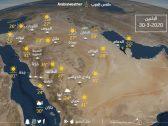 غيوم رعدية ورياح على بعض المناطق .. بالصور : تفاصيل حالة الطقس اليوم الإثنين