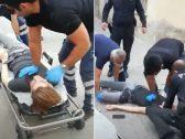 """شاهد: لحظة قتل شاب سوري في تركيا بطريقة """"بشعة"""" !"""