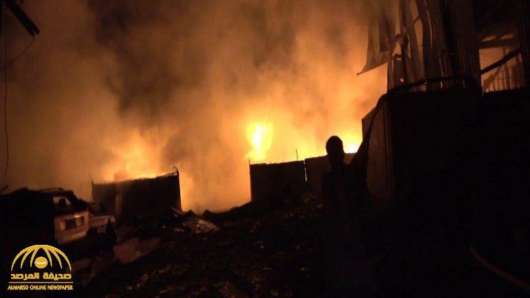 بعد إعلان التحالف وقف إطلاق النار .. بالصور : الحوثيون يقصفون مأرب والحديدة