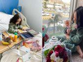 بالصور : مواطنة توثق حياتها هي وابنتها وزوجها في الحجر الصحي بالطائف .. وتكشف كيف تمت إصابتهم بكورونا