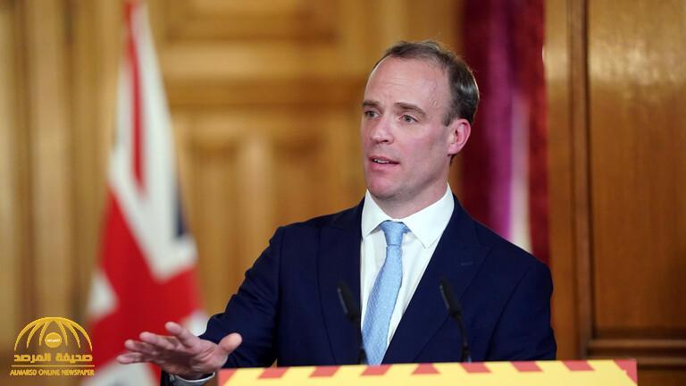 """أول تعليق من """"دومينيك راب"""" بعد توليه مهام رئيس الوزراء البريطاني """"جونسون"""" المصاب بفيروس كورونا"""