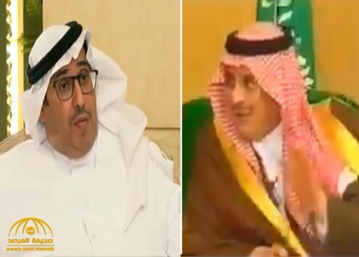 """شاهد مغرد ينشر فيديو قديم للأمير """"سلطان بن فهد"""" ردًا على تصريح البلوي الأخير حول سبب إبعاده من الوسط الرياضي"""