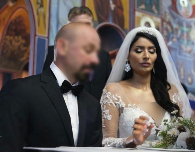بعد اعتناقها المسيحية فايزة المطيري تنشر فيديو زفافها داخل كنيسة صحيفة المرصد