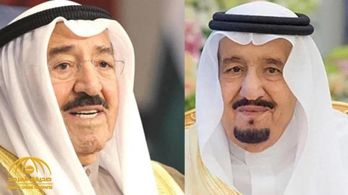 خادم الحرمين يتلقى اتصالاً هاتفياً من أمير دولة الكويت