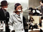 """شاهد بالصور : كيف واجه البشر""""الإنفلونزا الإسبانية """" التي تسببت بوفاة 50 مليون إنسان  قبل 100 عام"""