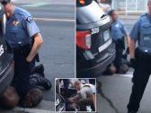 """""""وضع رجله فوق عنقه """" .. شاهد شرطي أمريكي يقتل رجل أسود أثناء القبض عليه"""