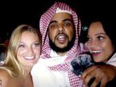 """شاهد .. الشرطة الأمريكية تلقي القبض على """"عبدالرحمن المطيري"""" وتضع في يده """"الكلبشات"""""""