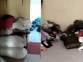 شاهد .. عمالة تسرق ملابس التبرعات الخيرية وتبيعها بالرياض