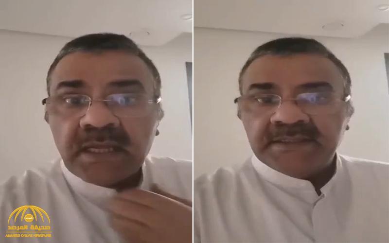 """بالفيديو .. كاتب كويتي ينتقد حكومة بلاده في التعامل مع جائحة كورونا : """"محد عافسكم إلا بو كرفته"""""""