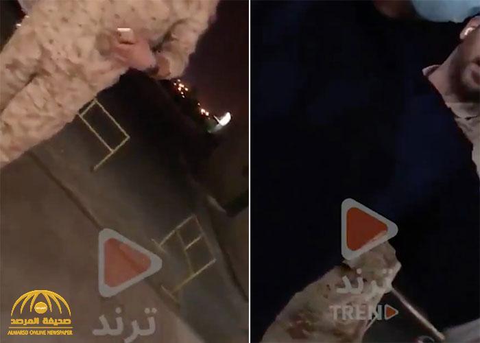 """شاهد: ملاسنة بين عسكري كويتي ووافد مصري.. والأخير ينفعل: """"أنا بفهم غصب عنك""""!"""