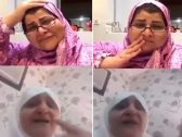 شاهد: مسنة تنهار باكية بعد ترك ابنها لها من أجل زوجته