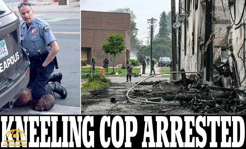 القبض على ضابط الشرطة الأمريكي المتهم بقتل رجل أسود خنقا