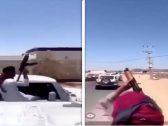 تطورات جديدة في واقعة إطلاق النار من أسلحة رشاشة  في الليث بعد القبض على 13 مواطن !- فيديو