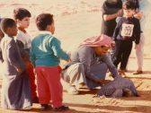 """شاهد : صورة نادرة لـ """"الملك سلمان"""" في رحلة قنص"""