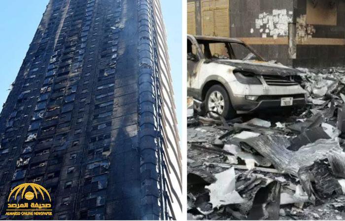إعلان أسباب الحريق المروع في برج النهدة بالإمارات والكشف عن حجم الخسائر !