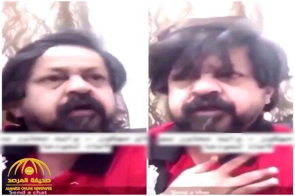 بالفيديو .. الممثل الباكستاني المقيم في الكويت يعتذر عن مقطعه الخادش!