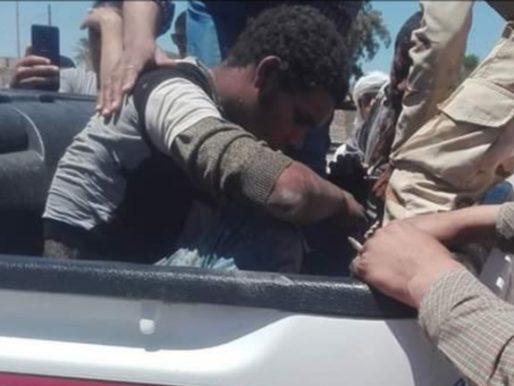 بالصور.. القبض على شاب مصري حاول قلب قطار!