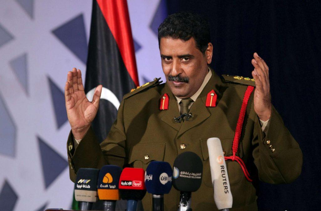 """المتحدث باسم """"الجيش الوطني الليبي"""": هناك دول خذلتنا"""