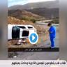 """أمير عسير يفاجئ متطوعين تعرضا لحادث أثناء توصيل الأدوية للمرضى بهدية """"غير متوقعة"""" – فيديو"""