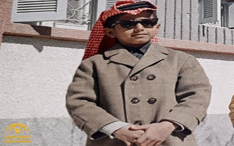 شاهد: فنان سعودي شهير ينشر صورة في مرحلة الطفولة ويثير تفاعل النشطاء