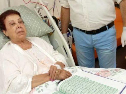 مصدر طبي يكشف عن تطورات مهمة في الحالة الصحية للفنانة #رجاء_الجداوي
