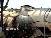شاهد: آثار الانفجار الذي وقع في خزان للغاز وهز إيران ليلة أمس
