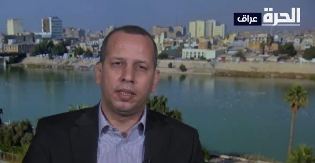 """شاهد.. آخر ظهور للسياسي """"الهاشمي"""" قبل اغتياله يحذر من خطر الميلشيات في العراق التابعة لإيران"""