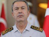 """وزير الدفاع التركي يتحدى المجتمع الدولي ويتحدث عن السيادة في ليبيا : """" لن نتراجع"""""""