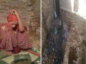 شاهد .. صور صادمة لامرأة مصرية حبسها شقيقها 22 عاماً