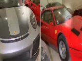 شاهد .. مصادرة السيارات الفاخرة للمشاهير المتهمين في قضية غسيل الأموال بالكويت